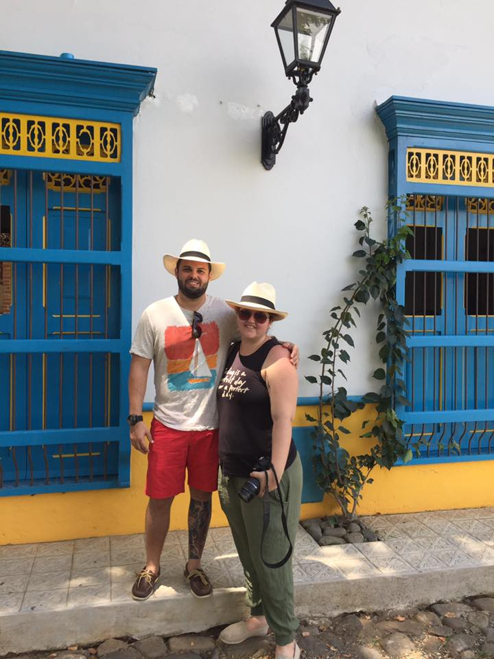 Tim McKenna and Stephanie Hames McKenna when they traveled to Colombia