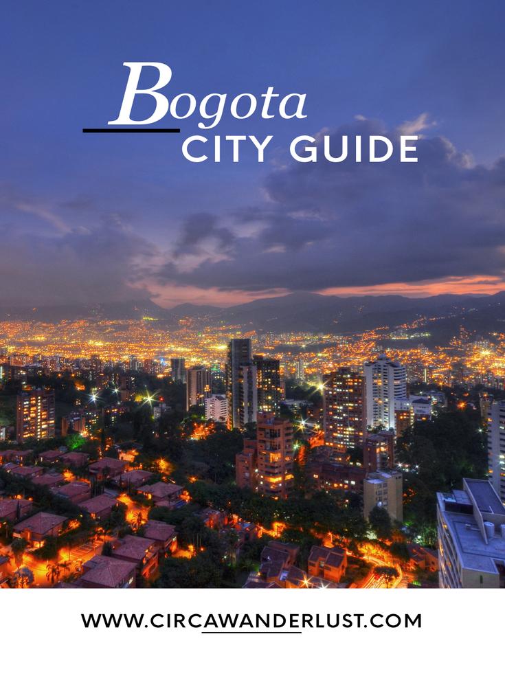 bogota, travel guide, colombia