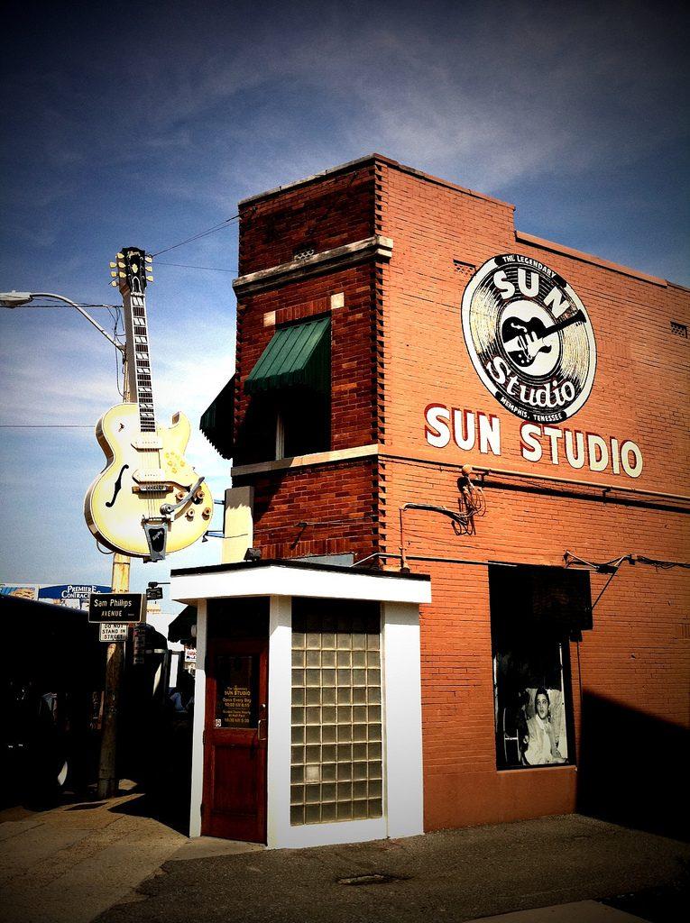 sun studios, memphis, elvis