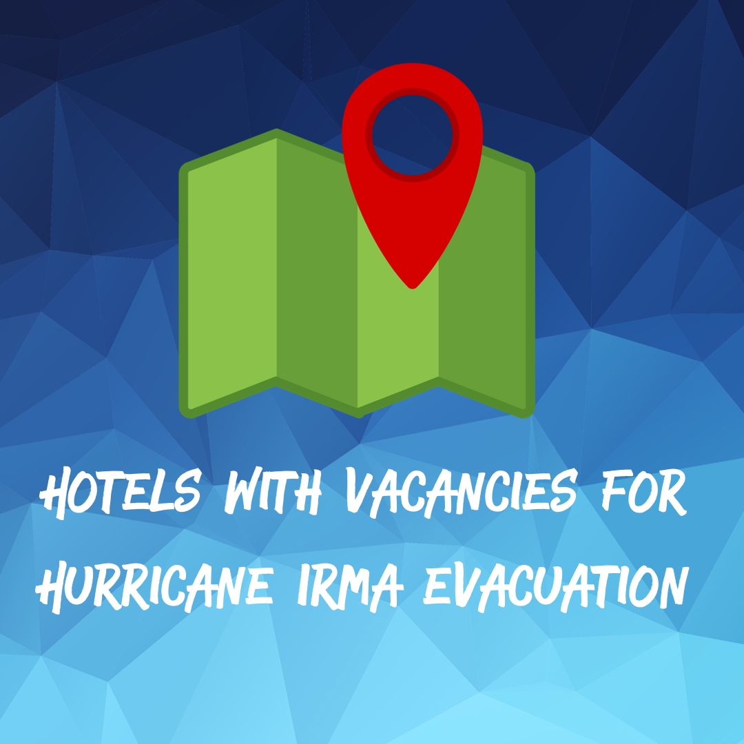 Hurricane Irma Hotel List