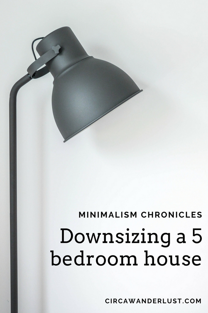 downsizing, minimalism