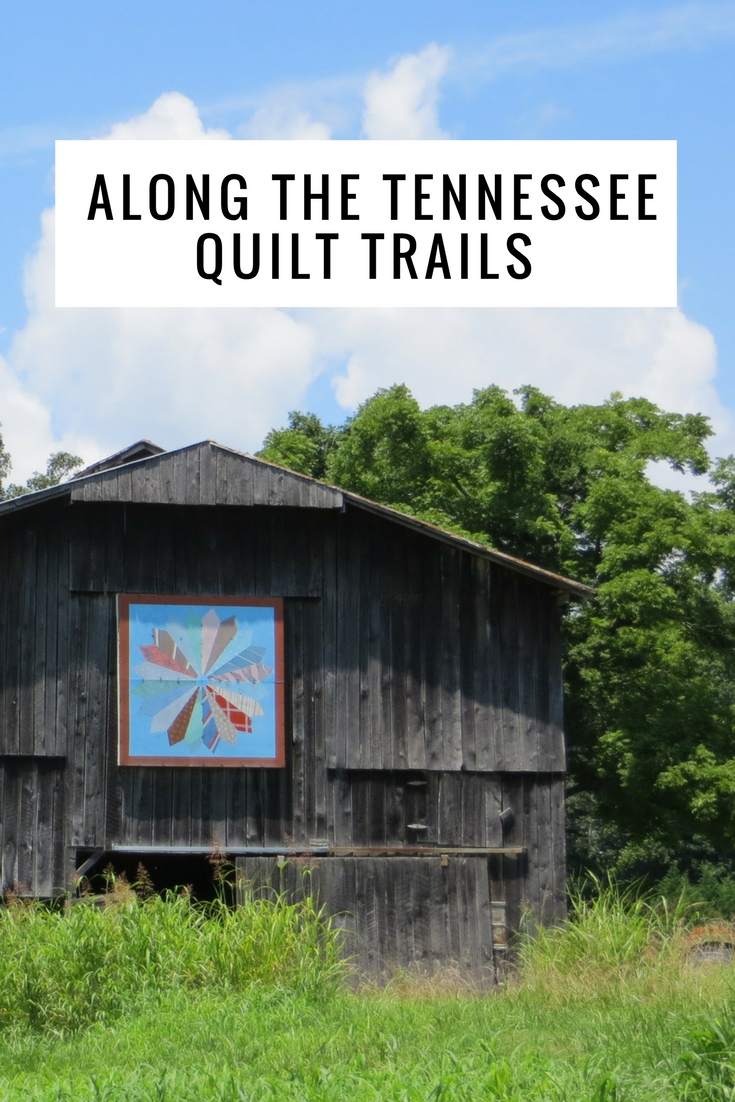Following Rural Roads Along The Tennessee Quilt Trails