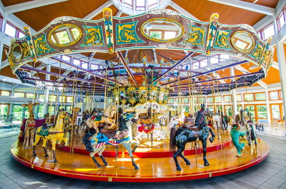 Coolidge Park Carousel in Chattanooga
