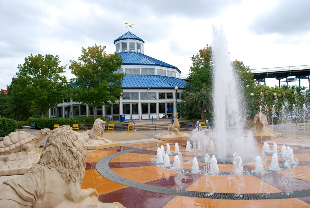 Coolidge Fountains in Chattanooga