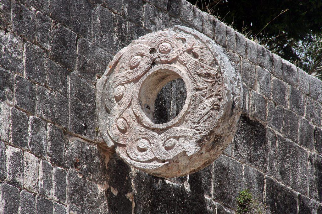 mayan ruins on the yucatan, chichen itza