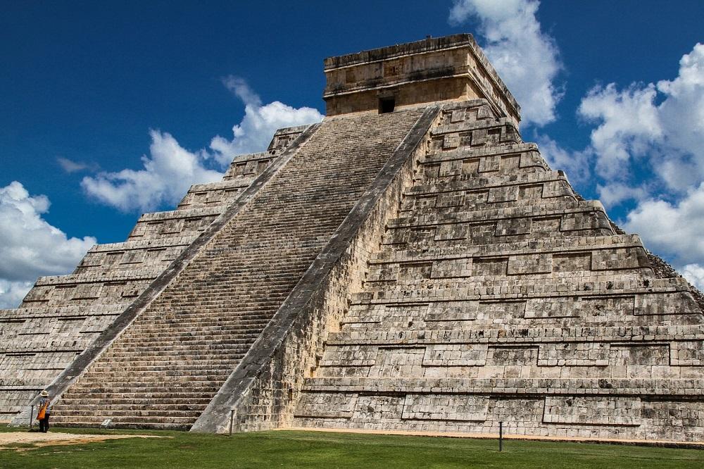 mayan ruins on the yucatan