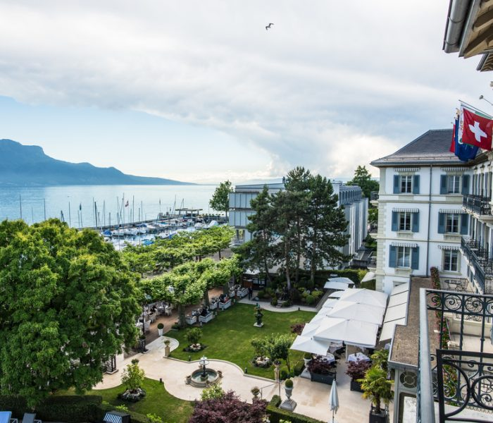 A Luxury Stay in Switzerland's Grand Hôtel du Lac