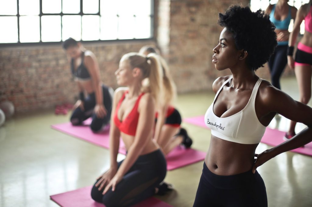 Boost Your Workout, yoga class