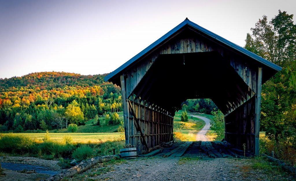 things to do in vermont, covered bridges