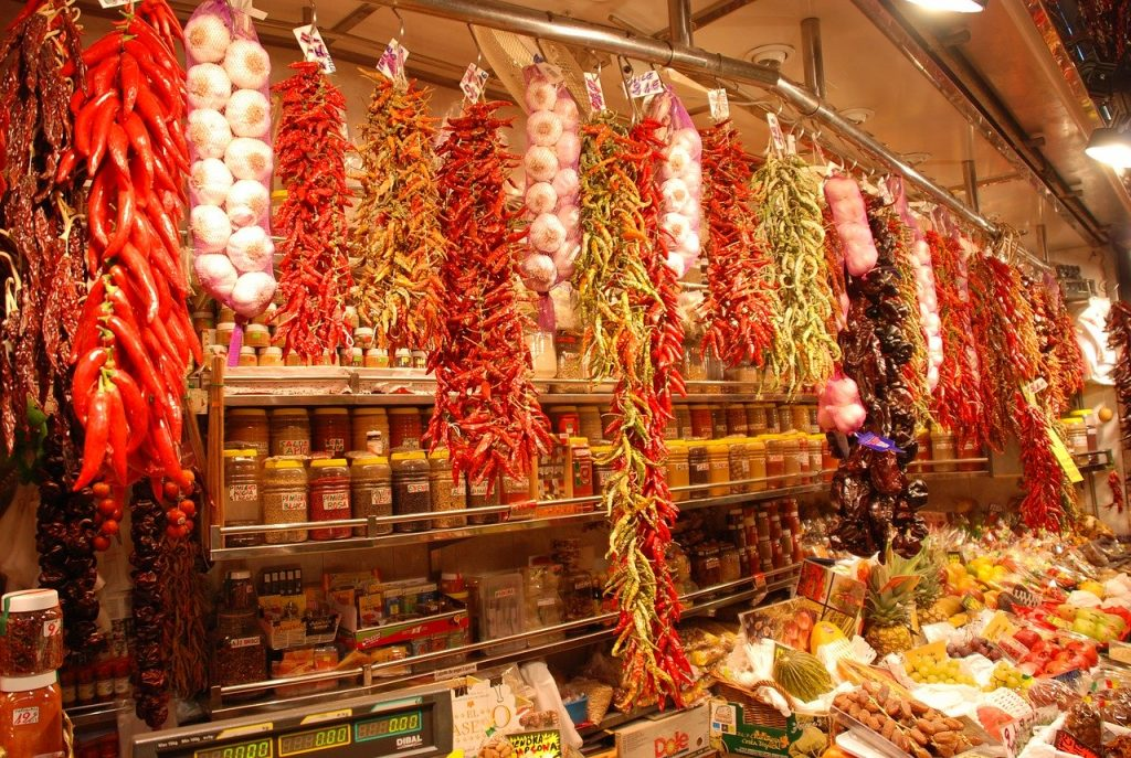 la boqueria market is one of the best things to see in Barcelona