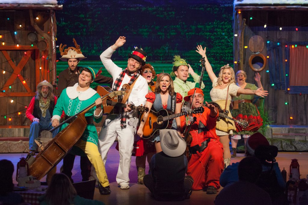 Christmas in the Smokies Hatflied and McCoys Dinner Show Cast