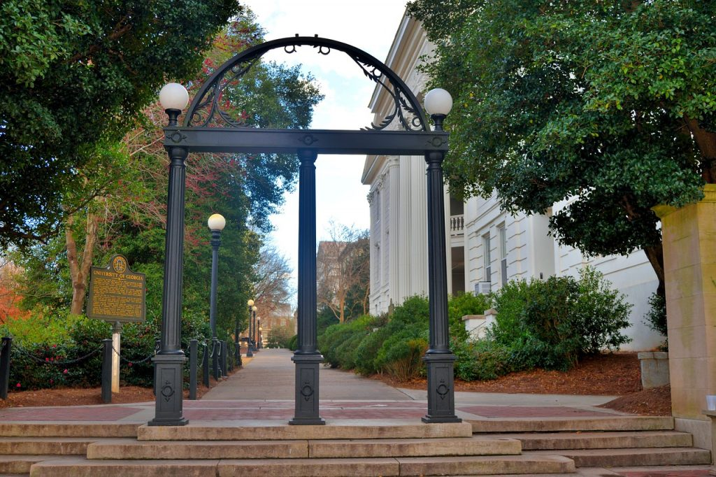 University arch in Athens Georgia