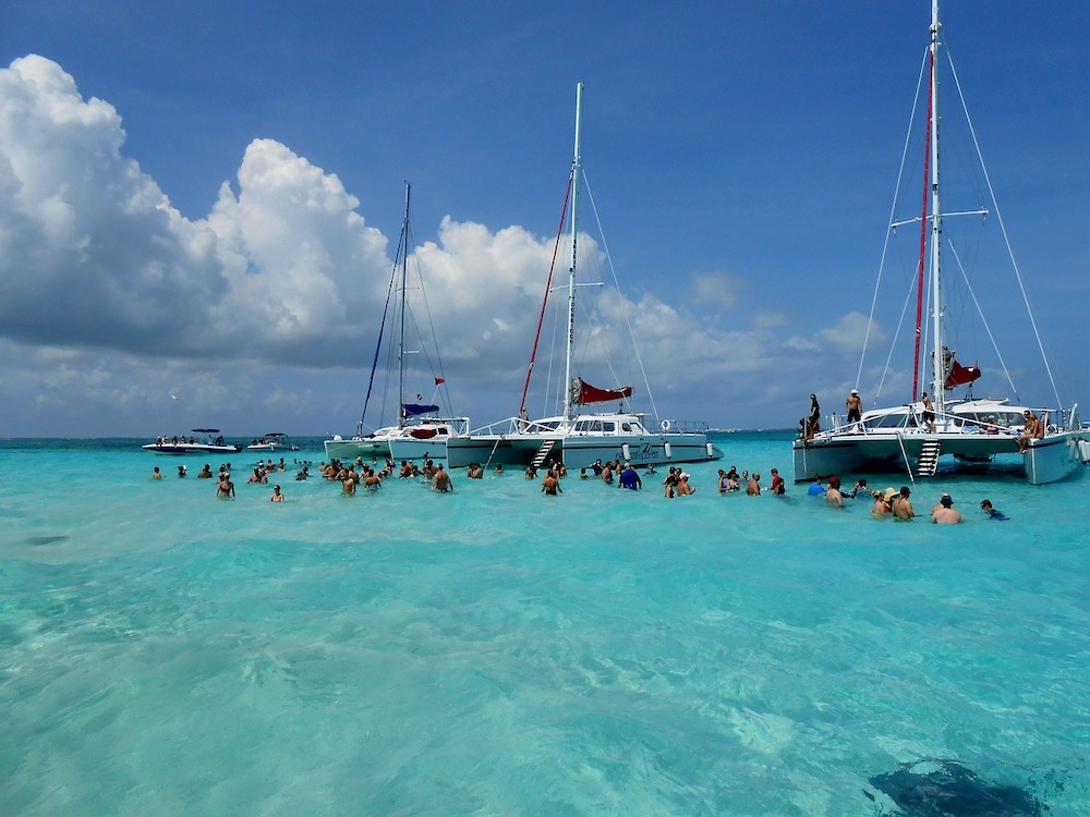 sail boats in Grand Cayman