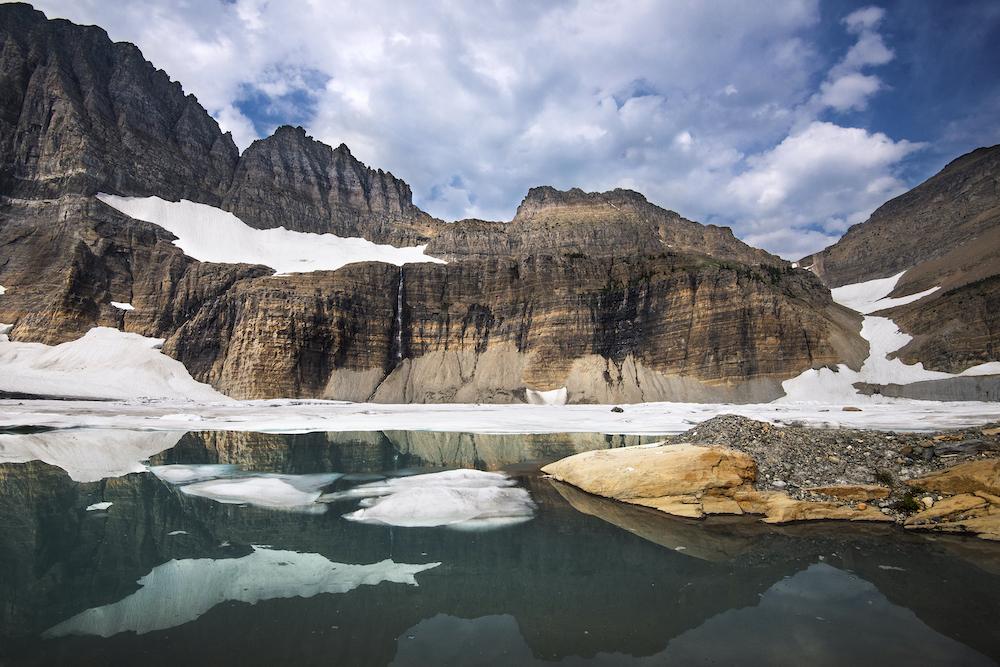 Grinnnell Glacier Basin in Glacier National Park, Montana