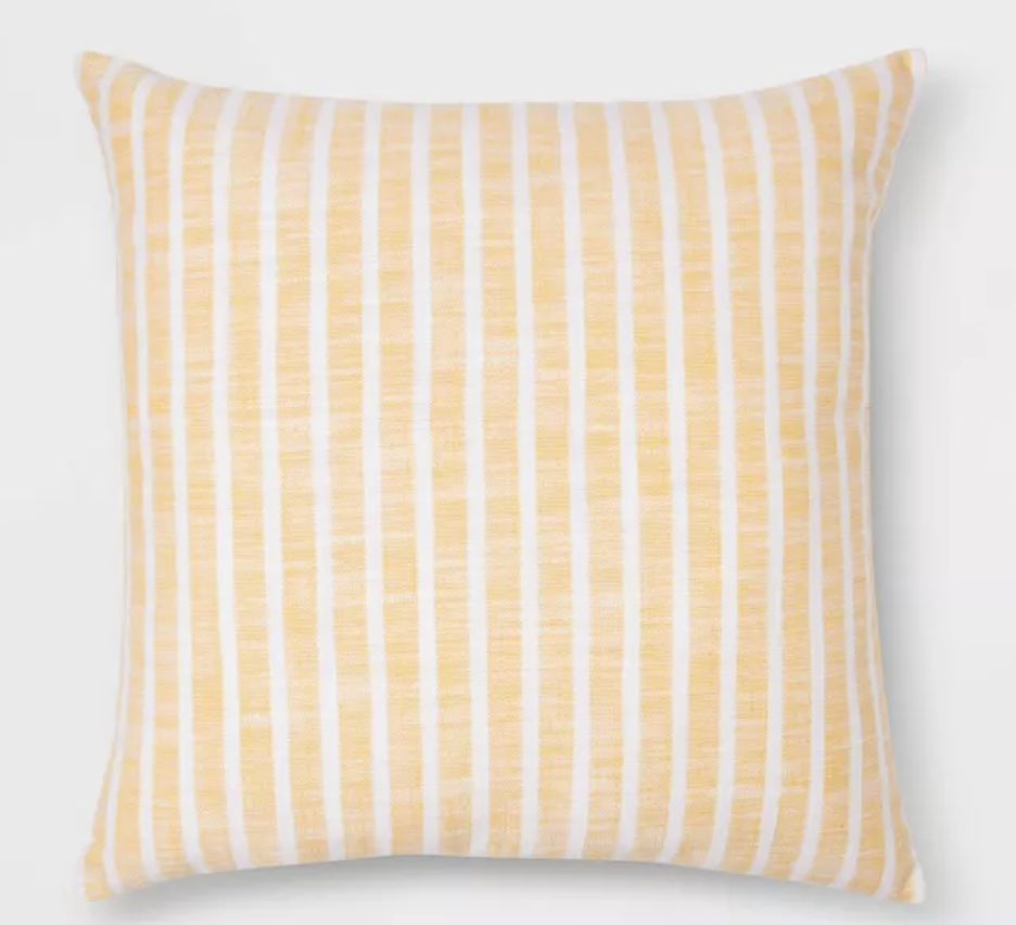 Woven Stripe Square Pillow
