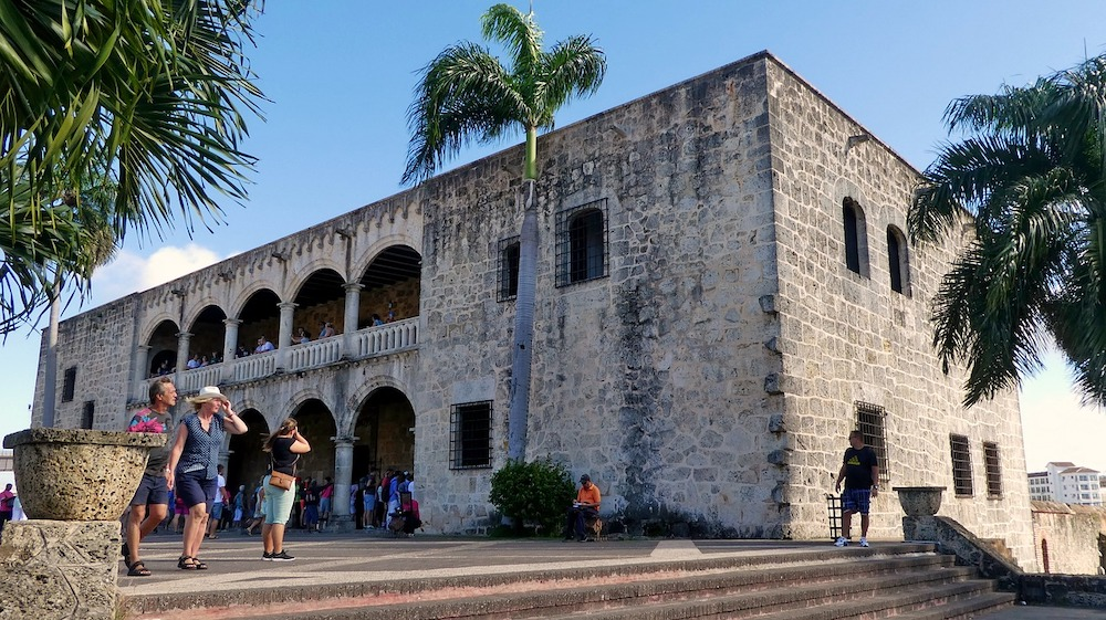 historic building in the dominican republic