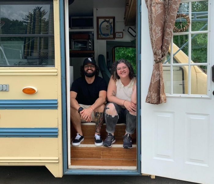 We're Buying a Skoolie and Giving Bus Life A Go with the LUCKY bus